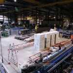 Factory floor load testing for new heavy machine installation